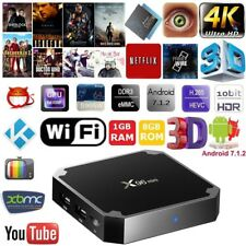 X96 Mini Android 7.1.2 4K Smart TV Box 1GB 8GB HD 3D Wifi S905W Media Player J8M