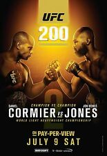 UFC 200 Fight Poster (24x36) - Daniel Cormier vs Jon Jones v2