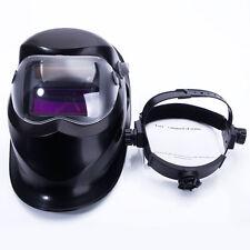 Welding Helmet Pro Solar Auto Darkening  Cap Electric Welding Helmet 500-Black