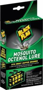 Black Flag MOSQUITO OCTENOL LURE fits Most Zapper Brands 30-day Continuous Relea