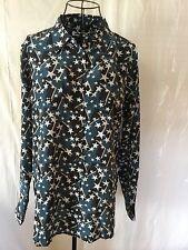 NWT EQUIPMENT SLIM SIGNATURE Silk Shirt - Blouse - Top Women's (M) MSRP $258.00