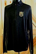 women's XL 47 Forward black l/s pullover 1/4 zip Las Vegas Golden Knights