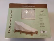 Chaise Lounge Cover Outdoor Waterproof, Patio Lounge Chair Cover Fits up to 66IN