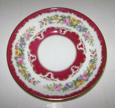 STAFFORD SHIRE CROWN CHINA COFFEE TEA SAUCER PLATE REPLACEMENT 1801 ENGLAND RARE