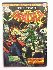 TOMB of DRACULA #22 FN 6.0 MARVEL COMICS Bronze Werewolf 1970s Gene Colan