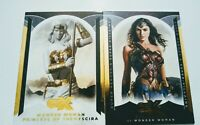 WonderCon Cryptozoic CZX Wonder Woman Promo Card #P1& CZX Princess of Themyscara