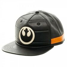 Star Wars Black Squadron PU Snapback Rebel Logo Cap Hat Rogue One NEW