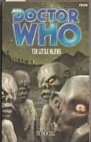 Doctor Who - Ten Little Aliens. Stephen Cole, Hartnell's Doctor, PDA, VGC