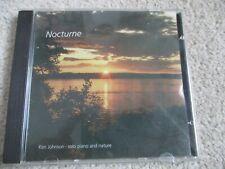 MUSIC CD - KEN JOHNSON  - NOCTURNE  - 11 TRACKS -1994