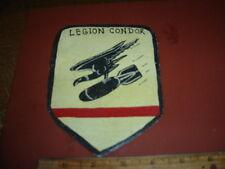 WWII LUFTWAFFE SPAIN LEGION CONDOR EAGLE BOMB   FLIGHT JACKET PATCH