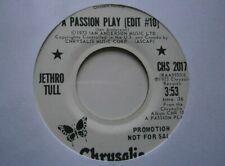 "JETHRO TULL: A Passion Play (Edit #10) (Chrysalis) US 1973 Promo 7"" single"