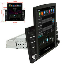 Single DIN 10.1in Touch Screen Car FM Stereo Radio 1+16G GPS WiFi + Rear Camera
