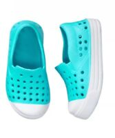 NWT Gymboree Jump Into Summer Water Shoes Teal Girls Size 9