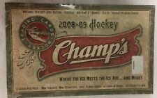 2008-09 Upper Deck Champs Factory Sealed Hockey Hobby Box