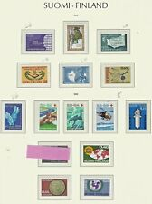 (1058)  STAMPS FINLAND 1965 to 1970  MINT