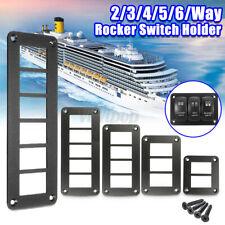 Car Boat 4 Way Aluminum Rocker Switch Panel Hosing Holder Fit ARB Carling
