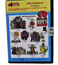 Amazing Designs Silly Halloween 25 Designs CD ROM, ADL-9