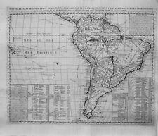 Antique map, Nouvelle carte de geographie de la partie meridionale de l'Amerique