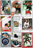 HUGE Lot Of 2003-04 Autos - Game Used - Rookies - Parallels - Inserts - Base