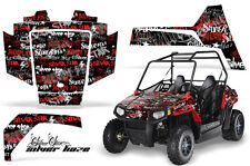 AMR Racing Polaris RZR 170 Decal Graphic Kit UTV Accessories All Years SLVRHZE R
