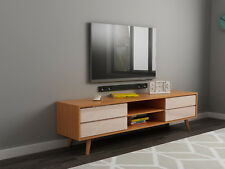 High Gloss khaki Scandinavian Style TV Stand Entertainment Cabinet Unit
