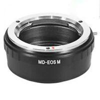 Minolta MD MC mount lens to Canon EOS M M2 EF-M mount camera adapter