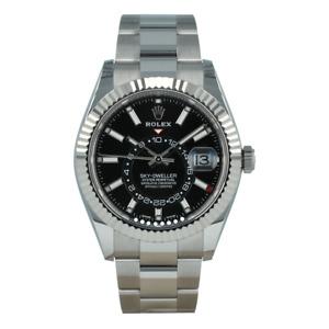 Rolex Sky-Dweller Black Dial Automatic Men's Oyster Watch
