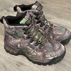 Waterproof Red Head Brand Camo Hunting Boots Kids Size 4 - True Timber