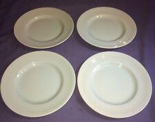 "Woods Ware Beryl Green 9"" Salad/Dessert Plates x 4. VG Condition"