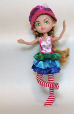 Doll wearing a pink hat - bendable limbs