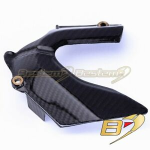 Ducati Streetfighter Carbon Fiber Front Sprocket Cover Chain Guard Open Style