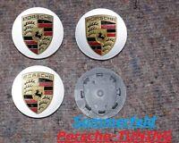 Porsche Macan Felgendeckel silber metallic / Porsche Wheel centre Caps