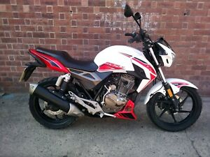 2018 ZONTES FIREFLY 125~SPARES OR REPAIRS~PARTS~STARTS/RUNS~LIGHT DAMAGE/SCUFFS