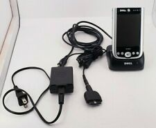 Dell Axim X50 Windows Pocket Handheld Pc W/ Dock & Charger