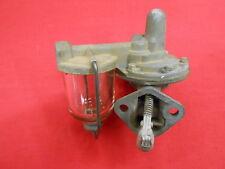 Mechanical Fuel Pump w/Glass Bowl 1946-48 Ford Flathead V8 scta 32 Hot Rod TROG