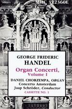Daniel Chorzempa - Handel Organ Concerti Volume I MHS 2 x Cassette Tape Set