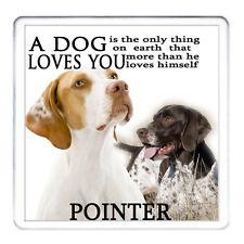 PISTOLA PUNTATORE cane Coaster Tazza Tappetino Tazza di corrispondenza disponibili può essere personalizzato