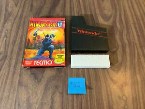 Ninja Gaiden III 3: The Ancient Ship of Doom (Nintendo NES) - Original Box ONLY