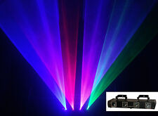 4 Lens Tunnel 980mW RGBP Laser Light Red Blue Green Pink Stage Show DJ Lighting