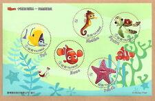 China Taiwan - Findet Nemo Block 140 postfrisch 2008  Mi. 3322-3326