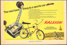 1968 Vintage ad Raleigh Fireball Bicycle Saddle Seat Photo(100416)