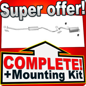 Silencer Exhaust System for NISSAN NOTE 1.4 16V since 04.2009