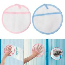 1PC Window Cleaning Gloves Dust Removing Brush Cloth Cleaner Duster Mitten Pad