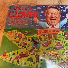 JERRY CLOWER Live At Cleburne Texas LP 15 Track Deletion Cut New & Sealed