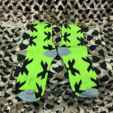 New Hk Army Performance Paintball Socks - Optic Speed - Neon Green/Black
