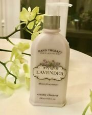 Crabtree & Evelyn Hand Therapy Collection - Creamy Cleanser - LAVENDER 8.5oz NOS