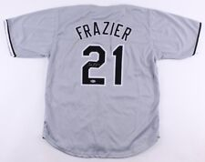 TODD FRAZIER SIGNED JERSEY w/ BECKETT COA NY YANKEES METS WHITE SOX TODDFATHER