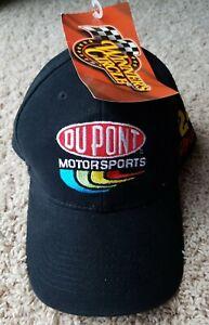 NASCAR Racing Jeff Gordon 24 Dupont Motorsports Hat Cap NEW NWT Black Red Yellow