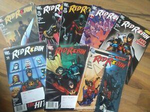 Red Robin- Superhelden-Sammlung-10 Hefte
