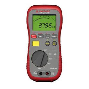 Amprobe AMB-45 Digital Insulation Tester. 1000V DC Max Test Voltage